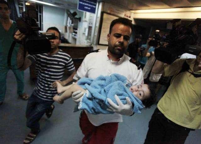 قطاع غزة يستهدف بقوة نارية غير مسبوقة منذ بدأ الصراع العربي الإسرائيلي