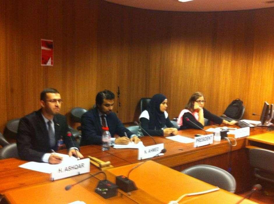 مناقشة انتهاكات الاحتلال الاسرائيلي خلال هجومه الأخير على غزة
