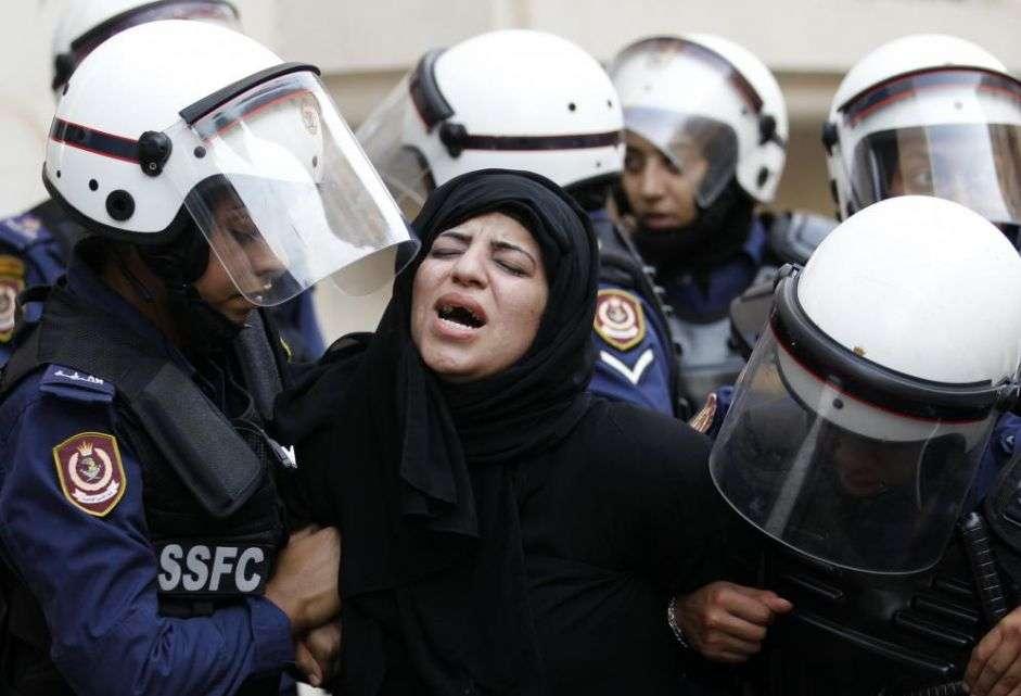 مسلسل من الإستخدام المفرط للقوة ضد المحتجين في البحرين في العام 2014