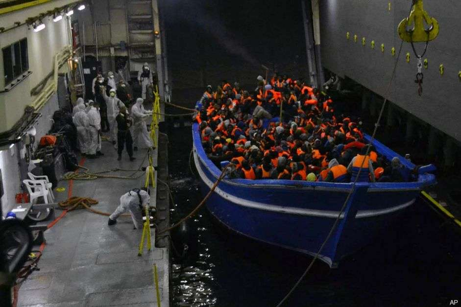 One million expected to flee from Libya to Europe