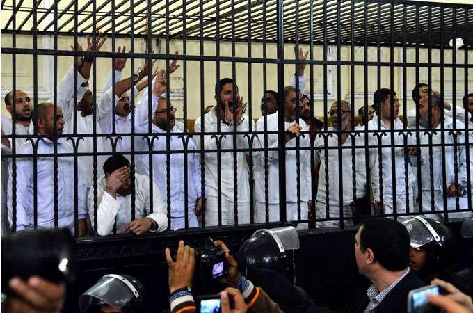 أحكام بالإعدام والسجن المؤبد بحق إعلاميين وناشطين في مصر في محاكمة لا يتوفر فيها الحد الأدنى من ضمانات العدالة