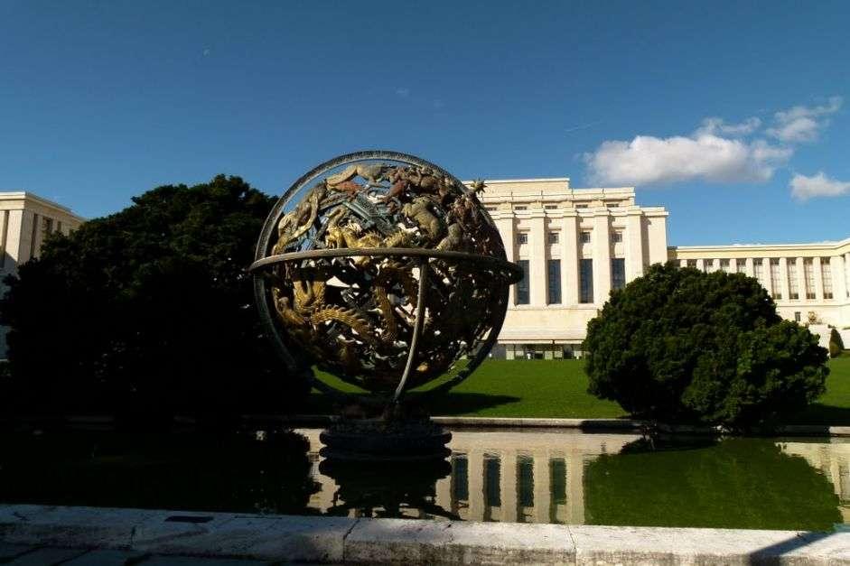 ندوة في قصر الأمم بجنيف حول قضايا الإرهاب والهجرة غير الشرعية