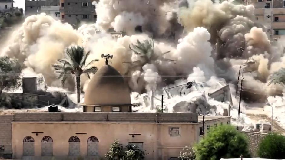 مصر: تهجير الآلاف في عمليات الهدم في سيناء