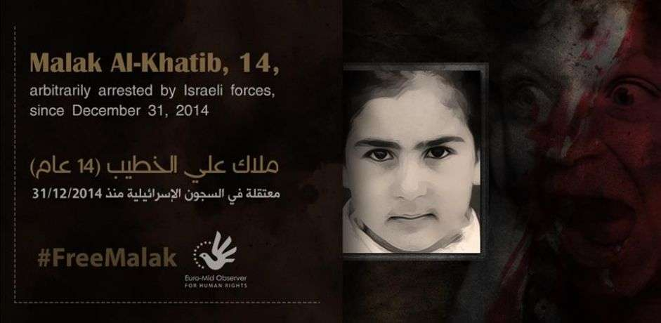 Une enfant palestinienne emprisonnée pendant deux mois, quatre autres menacés par les autorités israéliennes