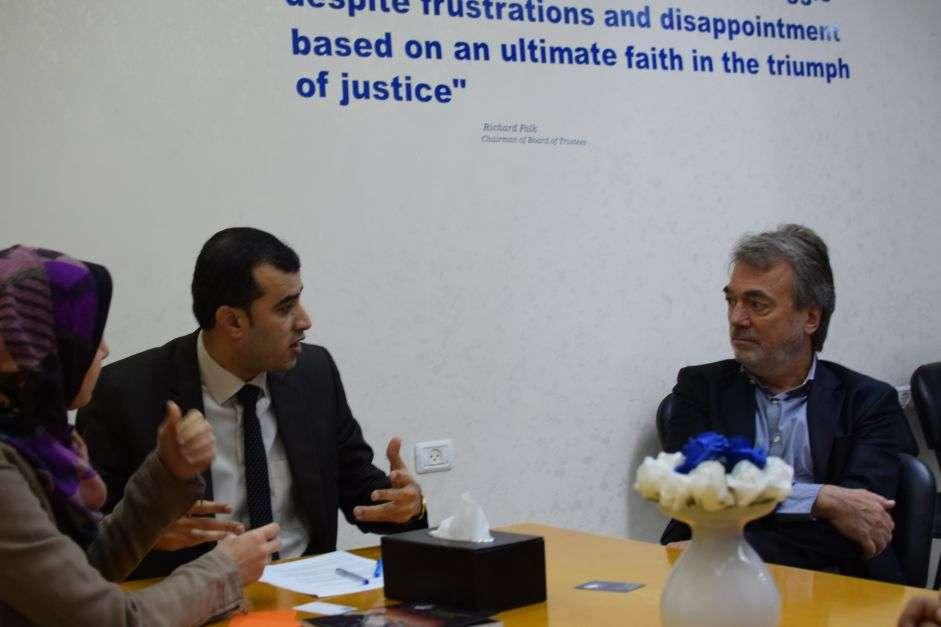 Euro-Med rencontre le directeur des opérations de l'UNRWA