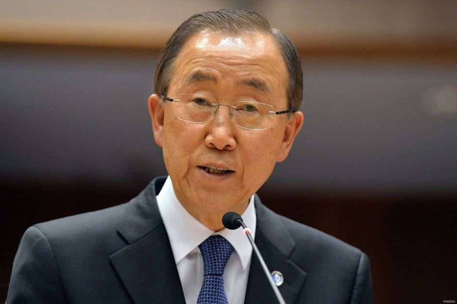 UN chief calls Syrian refugees burden to be shared by all