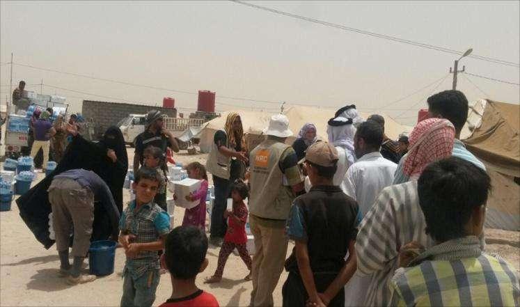 """3.6 ملايين نازح عراقي وتحذير من """"كارثة"""""""