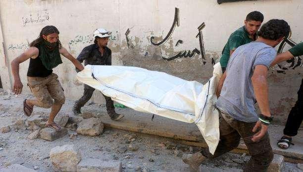 مقتل 2704 مدنياً، بينهم 746 طفلاً على يد القوات الروسية منذ تدخلها في سوريا
