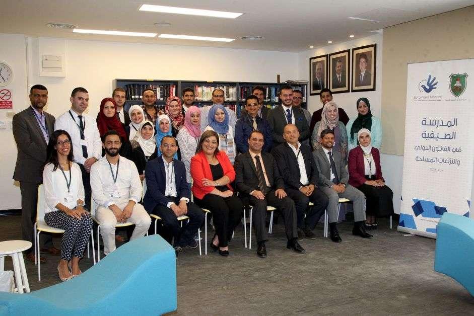 L'Observatoire Euro-Med lance le programme d'été des droits de l'Homme avec l'Université de Jordanie