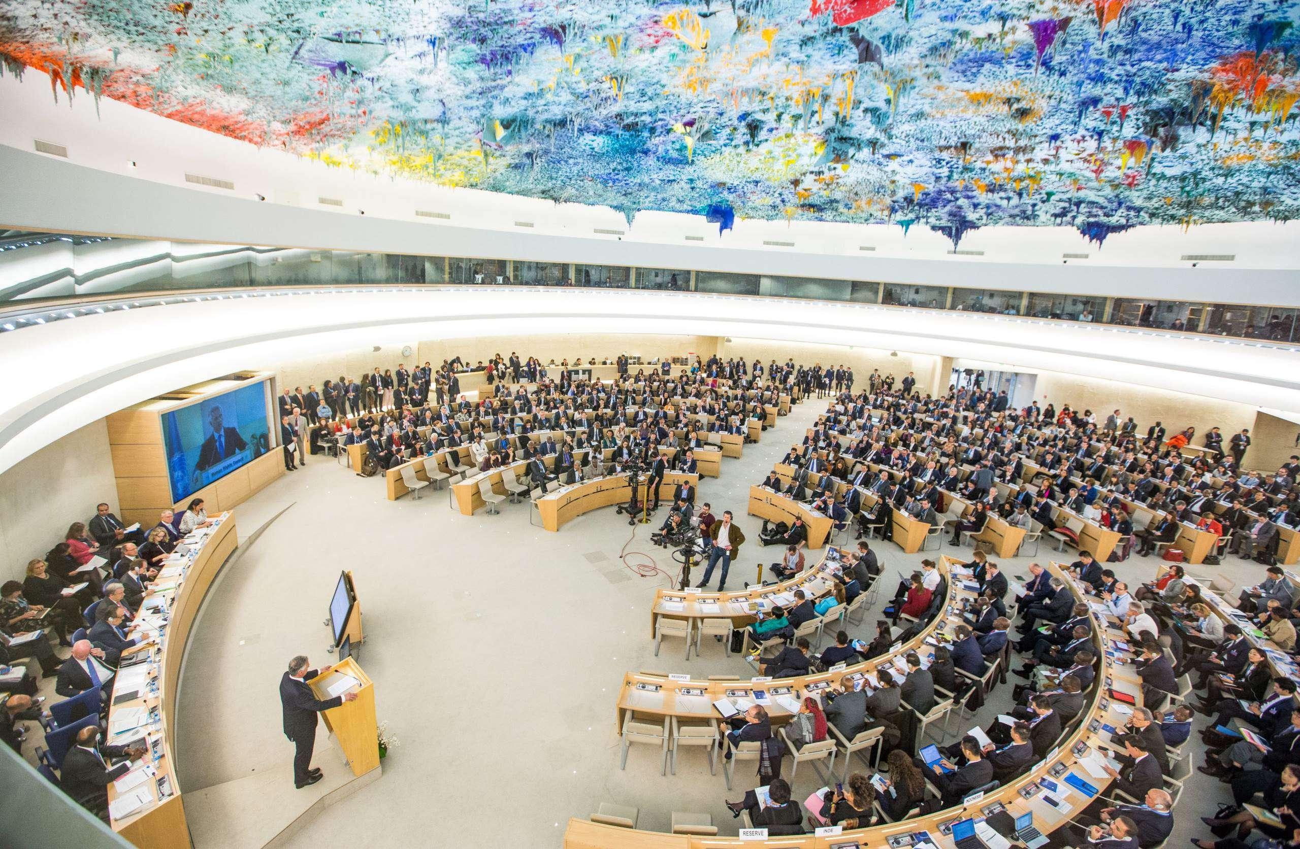 خلال كلمته أمام مجلس حقوق الإنسان، الأورومتوسطي يسلط الضوء على ممارسات مستحدثة للتمييز العنصري