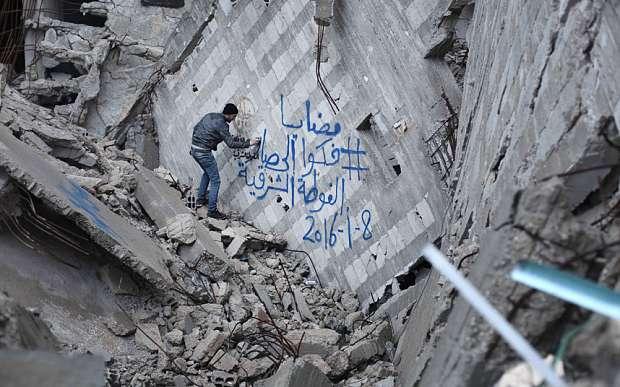 'In Madaya you see walking skeletons': Harrowing accounts of life under siege in Syria