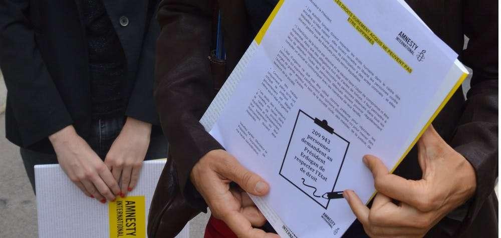 Plus de 200 000 personnes disent non à la répression en Turquie