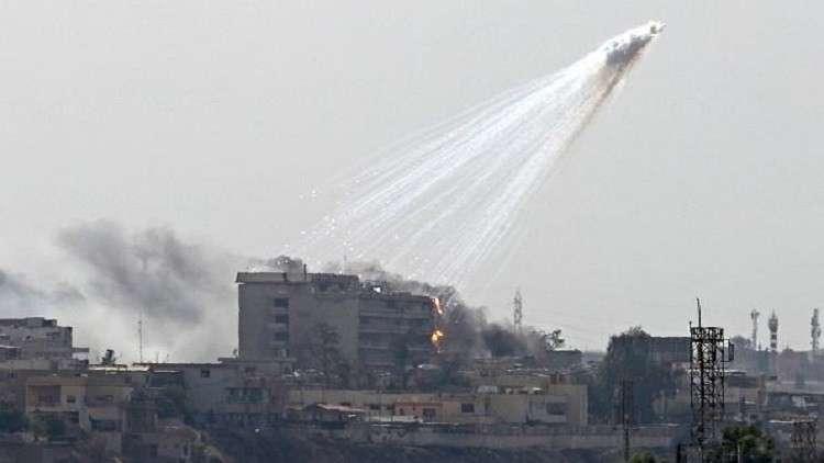 العراق وسوريا تحت خطر الفوسفور الأبيض الأمريكي