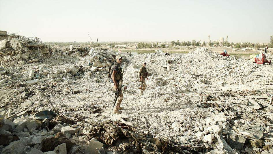 Iraq: US-Trained Forces Linked to Mosul War Crimes