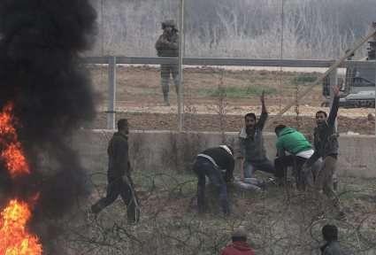 Euro-Med: Israël exécute de sang-froid un jeune homme sur la frontière de Gaza