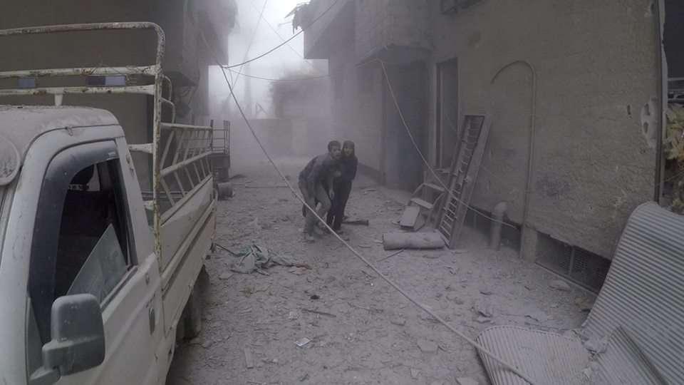 سوريا: الأورومتوسطي يحذر من وضع لا إنساني خطير يعيشه المدنيون في الغوطة الشرقية