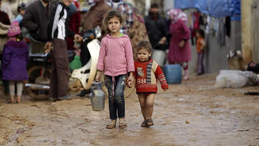37 millions d'enfants sans-abri font face à des risques de persécution et de traite des êtres humains dans le monde