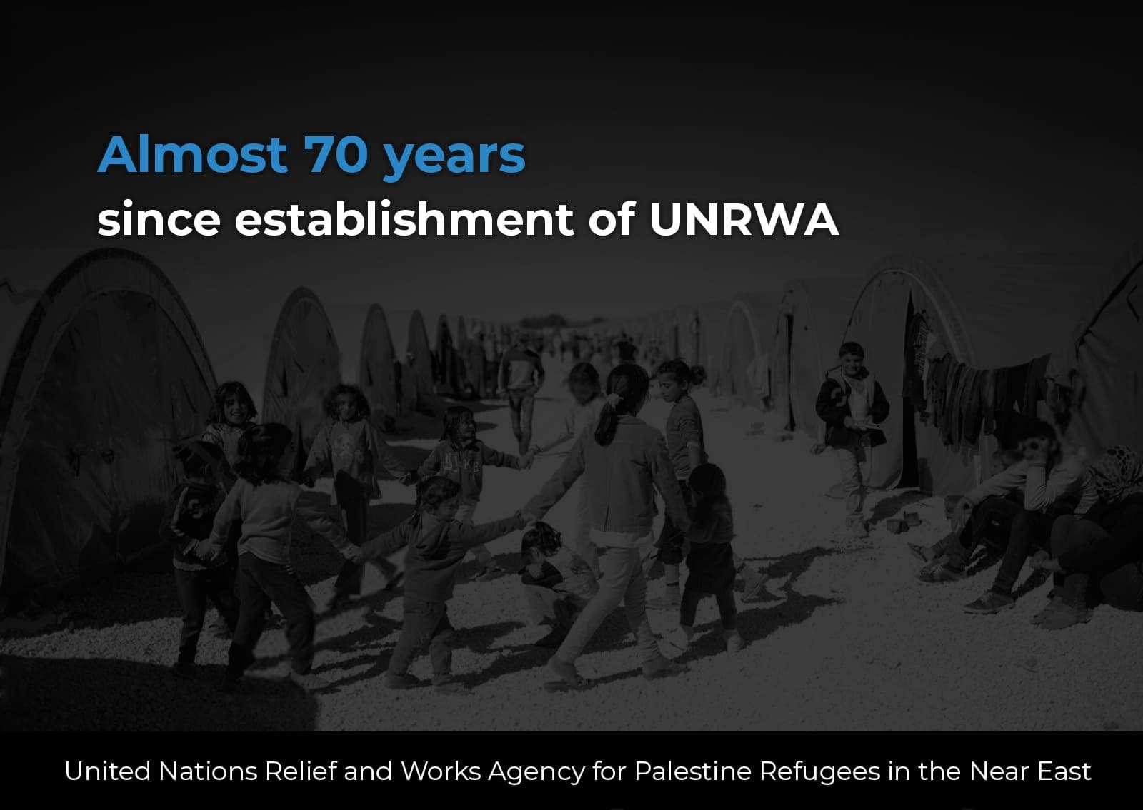 Decline of UNRWA services
