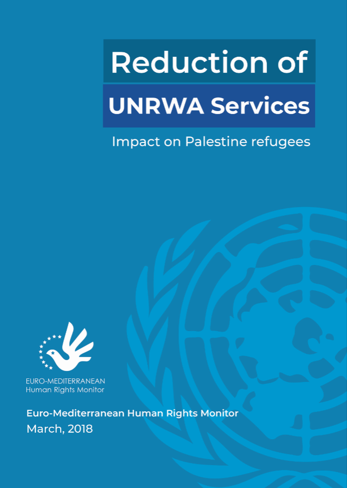 Decline of UNRWA services, consequences will be catastrophic