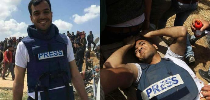 Euro-Med envoie une lettre urgente au rapporteur de l'ONU sur le ciblage des journalistes palestiniens