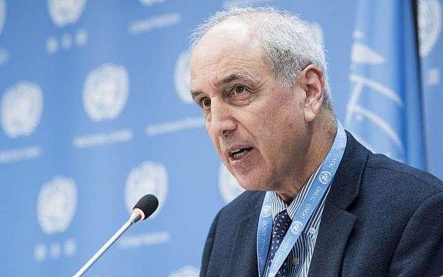 Brève déclaration: Le Rapporteur spécial sur la situation des droits de l'homme en Palestine appelle à une enquête sur les événements de Gaza