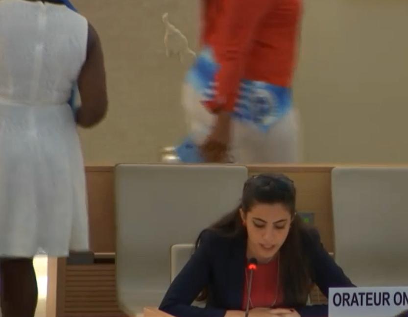 أمام مجلس حقوق الإنسان: الأورومتوسطي يطالب بكف يد إسرائيل عن نشطاء حقوق الإنسان ويدعو لوقف التعذيب واحترام العمالة المهاجرة في الإمارات
