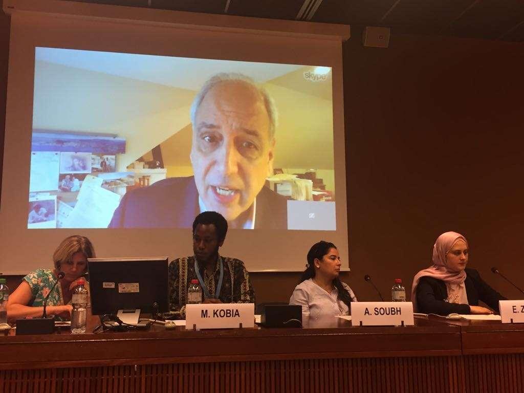 في ندوة عقدها الأورومتوسطي مع منظمات دولية في جنيف، مقرر الأمم المتحدة للأراضي الفلسطينية المحتلة: على دول العالم العمل من أجل إنهاء الاحتلال