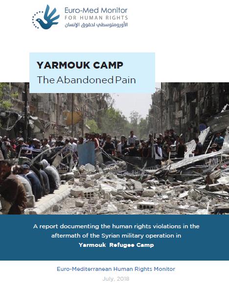 Yarmouk Camp.. The Abandoned Pain