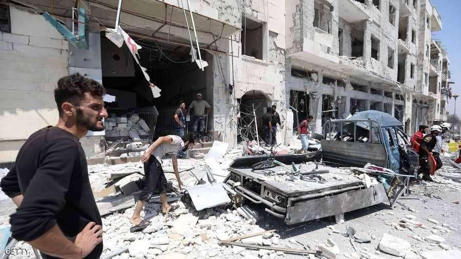 التحذير من عواقب العملية العسكرية المرتقبة بإدلب والدعوة لموقف دولي موحد لحماية المدنيين