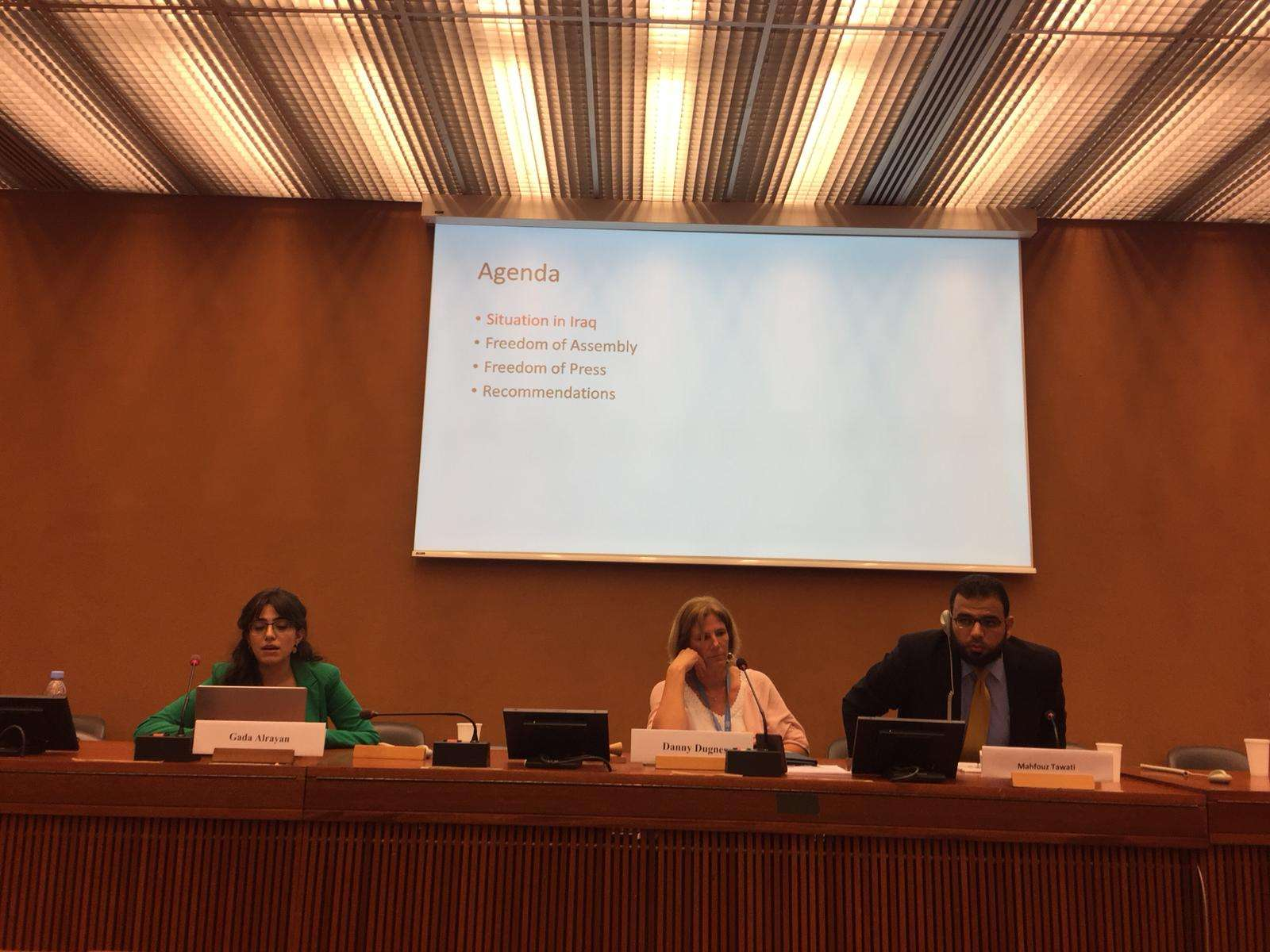 In a seminar organized by NGOs, Euro-Med Monitor discusses the responsibility of the international community to protect civilians in Palestine, Libya and Iraq
