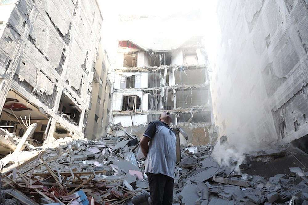 Euro-Med Monitor follows on Israel's destruction of nine civilian buildings in Gaza, displacing 100 families in 24 hours