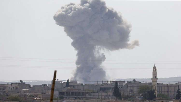 118 Iraqi and Syrian civilians killed over the last 10 days by US-led airstrikes in Syria's Deir al-Zour