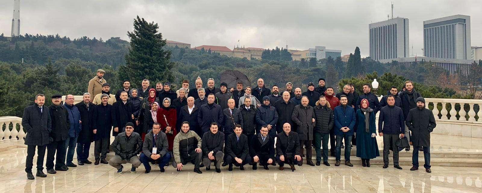 """الأورومتوسطي يختتم مشاركته في مؤتمر """"أوراسيا للقانون الدولي والعدالة"""" في أذربيجان"""
