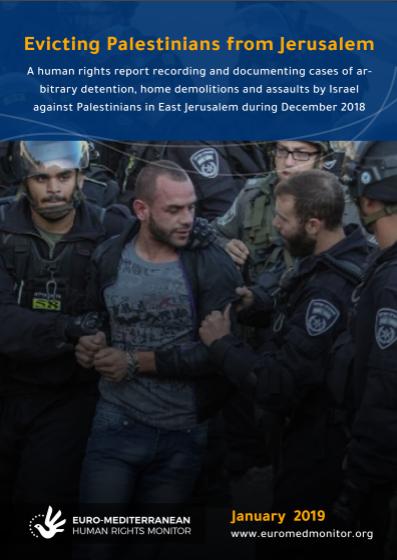 Evicting Palestinians from Jerusalem