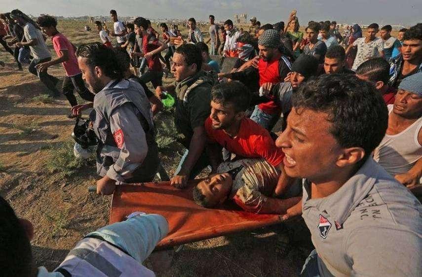 الأورومتوسطي: القضاء الإسرائيلي شريك في إزهاق أرواح المتظاهرين الفلسطينيين على حدود قطاع غزة