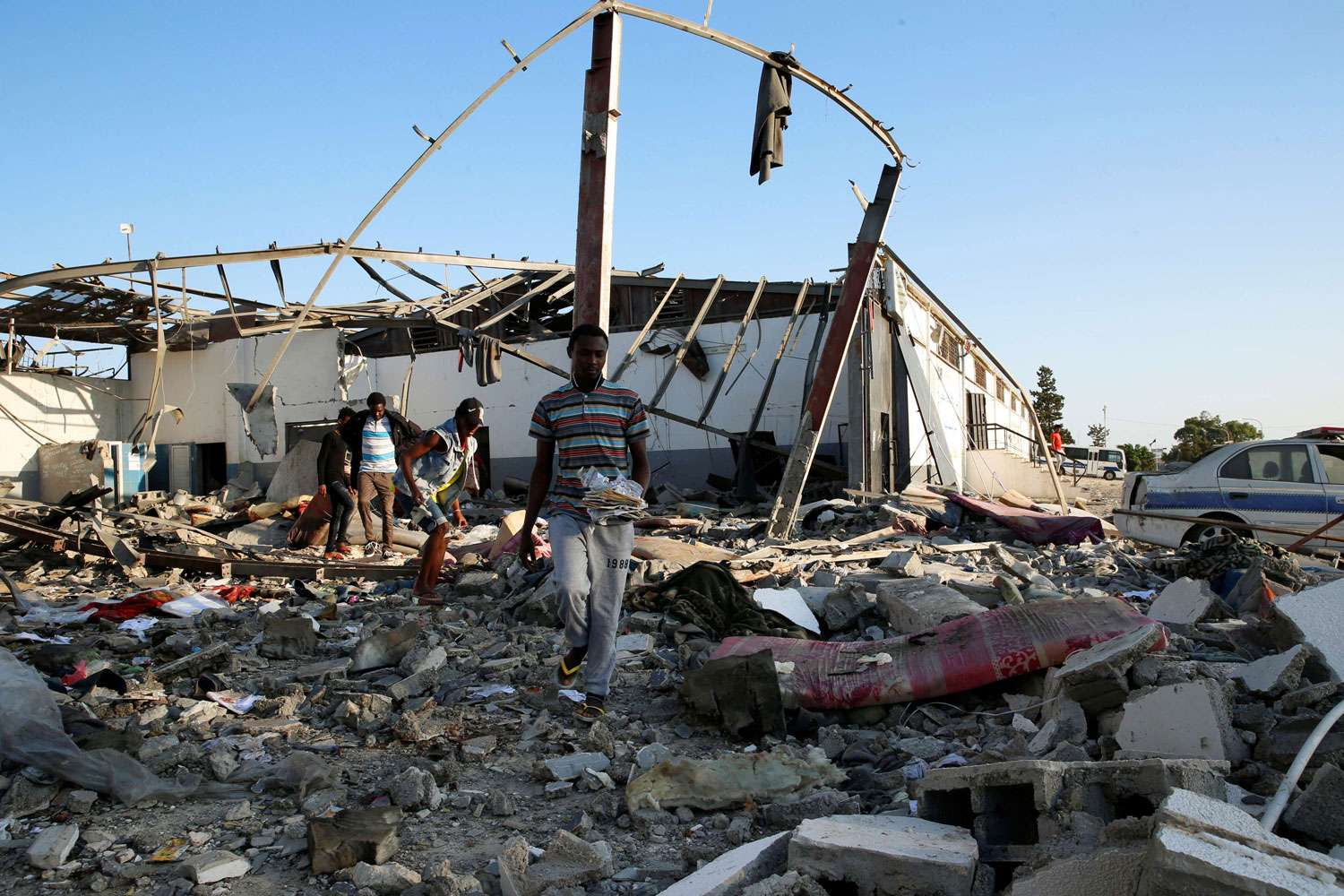 ICC should open an investigation into horrific attack on migrants center in Libya
