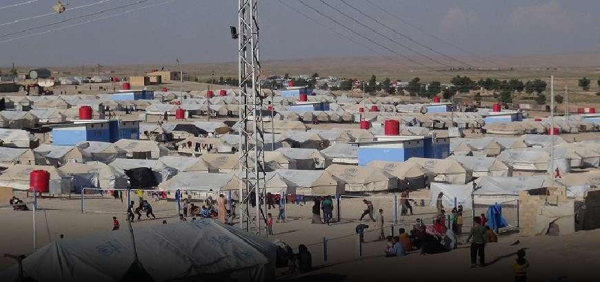 التحذير من أوضاع كارثية يعيشها نازحو مخيم الهول والدعوة لإغاثتهم بشكل عاجل