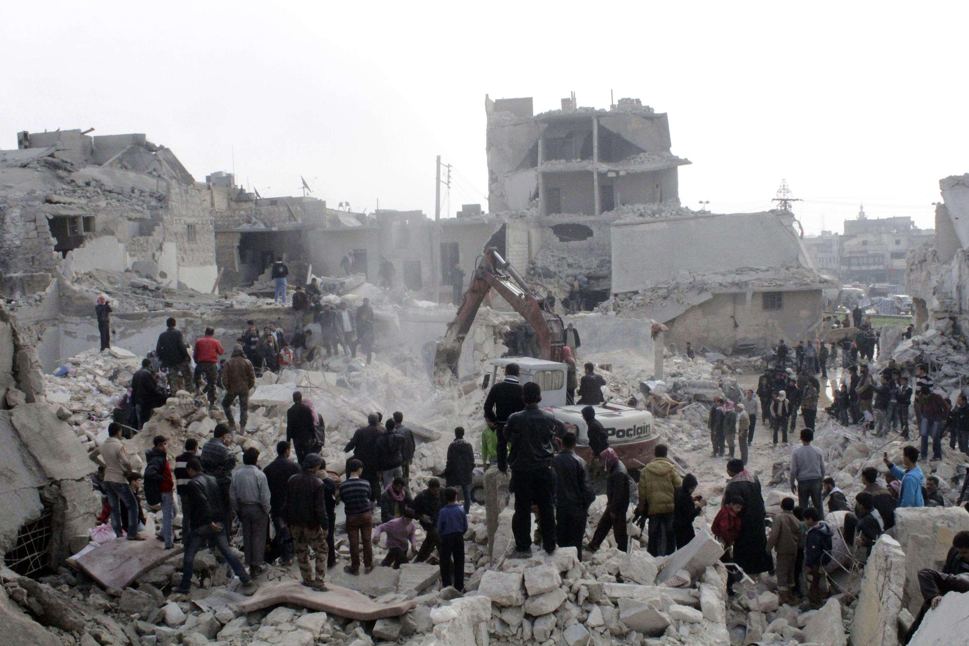 استهداف الأعيان المدنية شمالي سورية جريمة حرب