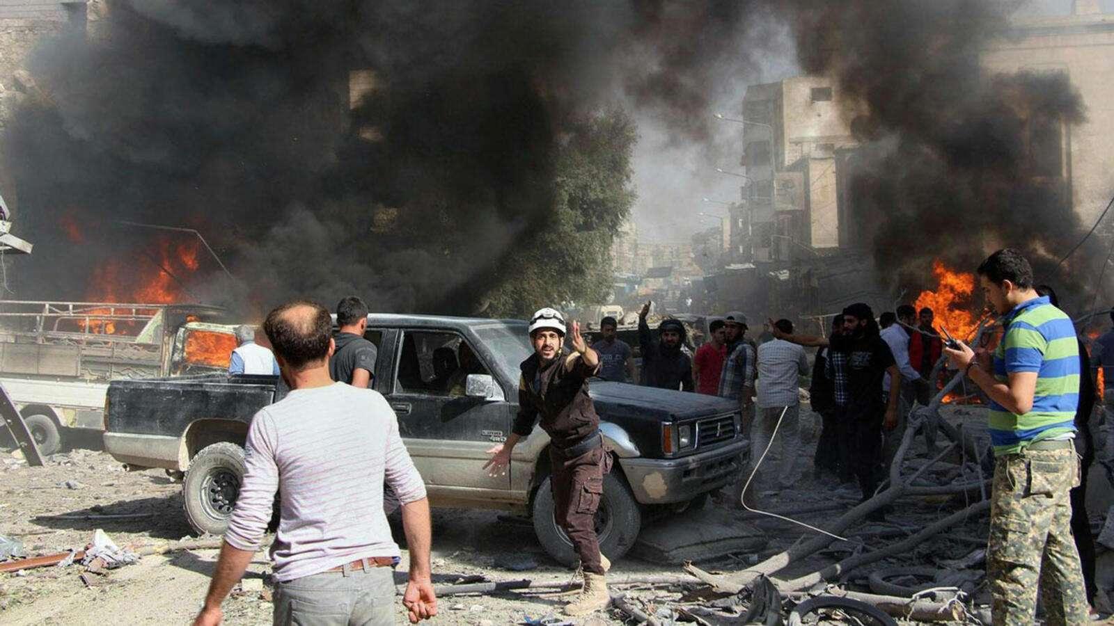 69 قتيلًا و150 ألف نازح خلال أسبوع..الأورومتوسطي يحذر من كارثة إنسانية بحق 3 ملايين مدني شمالي غربي سوريا