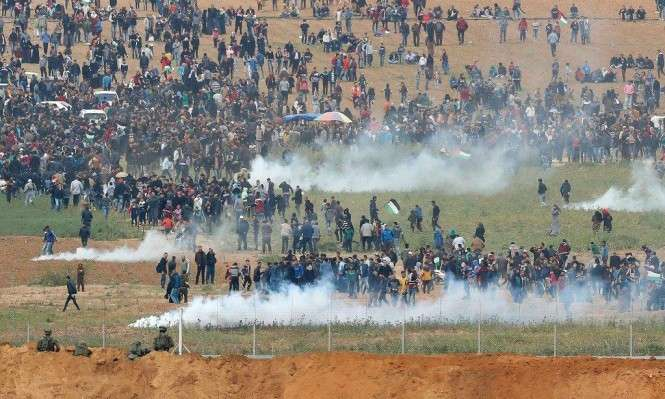 Euro-Med Monitor urges British government to stop supplying weapons used to violently suppress demonstrations in Gaza