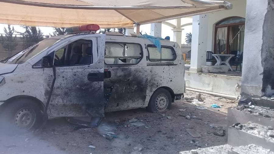 Medical staff caught in the crosshairs of conflict in Libya