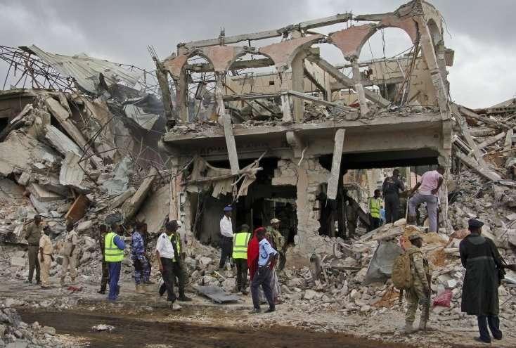L'attaque de la Somalie est un acte horrible en vue d'exécution massive