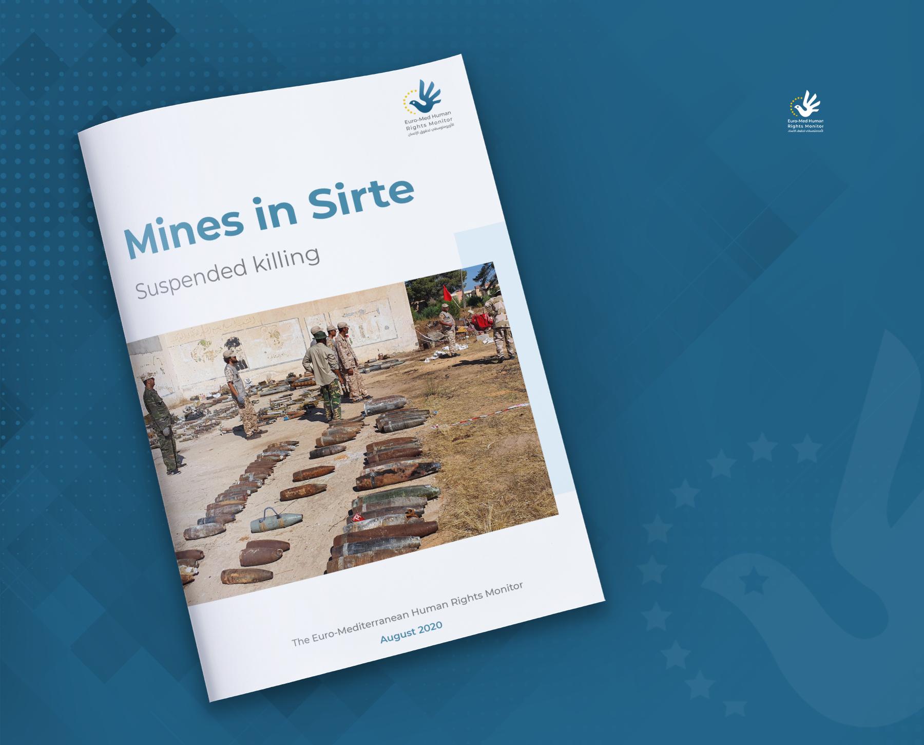 Sirte's mines: Suspended killing