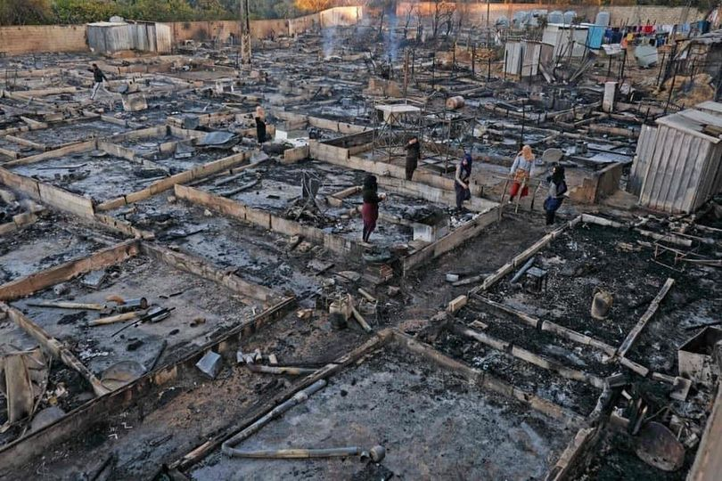 Lebanon: Setting Syrian refugee camp ablaze & authorities' slow response reveal alarming racism