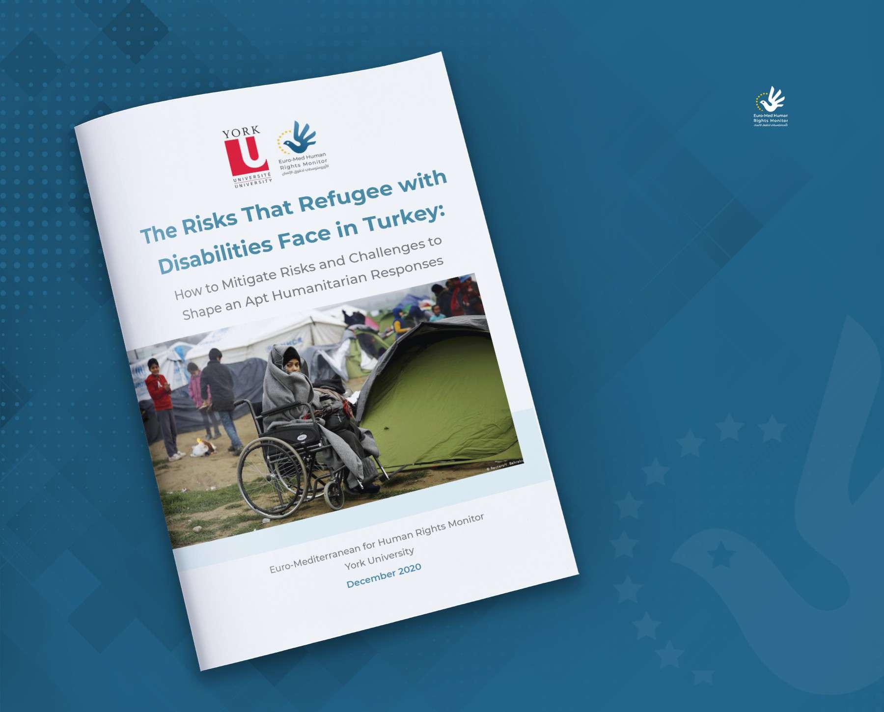 Euro-Med Monitor and York University study recommends providing inclusive environment for refugees with disabilities in Turkey