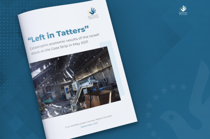 'Left in Tatters': Catastrophic economic results of the Israeli attack on the Gaza Strip in May 2021