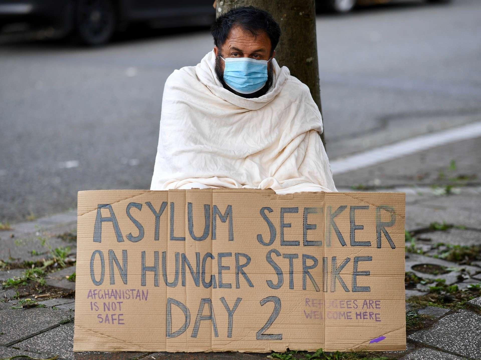 La grève de la faim des demandeurs d'asile témoigne le mépris du Royaume-Uni pour leur santé mentale et physique