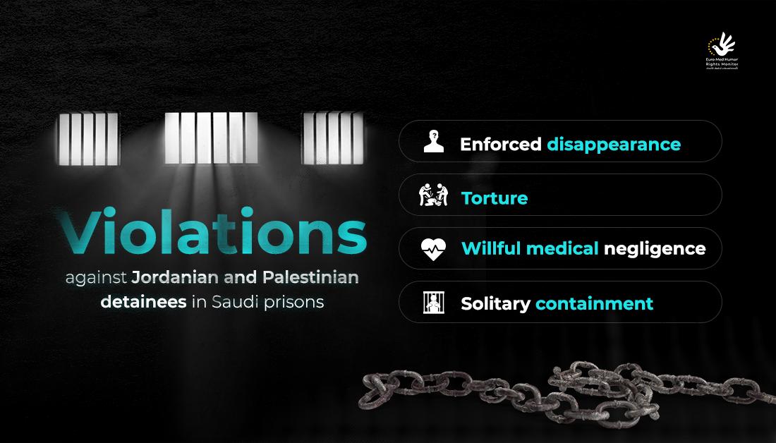 Violations against Jordanian and Palestinian detainees in Saudi Arabia