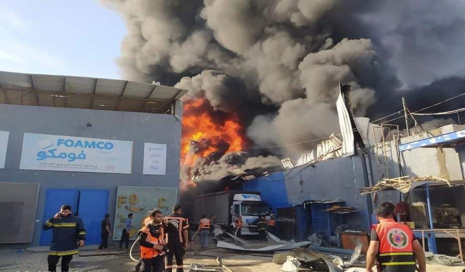 الأورومتوسطي يحذر من عواقب خطيرة لاستهداف الجيش الإسرائيلي منشآت اقتصادية في غزة
