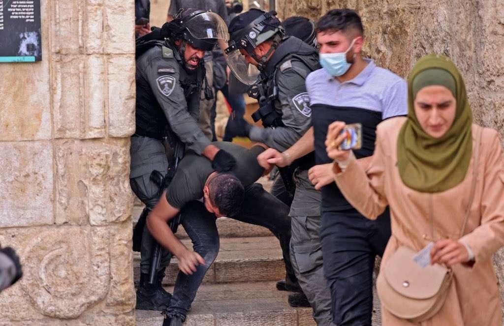 Brief press release on the recent developments in Al-Aqsa Mosque